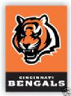 CINCINNATI BENGALS 2 SIDED HOUSE PORCH  FLAG