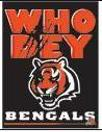 WhoDey Bengals flag
