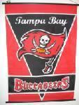 TAMPA BAY BUCCANEERS SCROLL FLAG