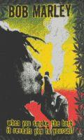 BOB MARLEY SMOKIN' VERTICLE FLAG