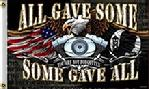Harley D all gave some some gave all US POW flag
