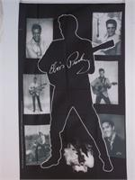 ELVIS BLACK & WHITE VERTICLE FLAG