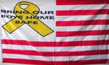 WWII USA BRING OUR BOYS HOME FLAG 3'X5'