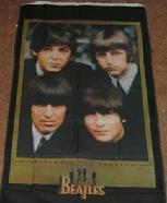 BEATLES VERTICaLE FLAG