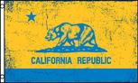 CaliforniaYellowBlue flag