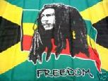 BOB MARLEY FREEDOM FLAG 3x5 FT
