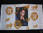 BOB MARLEY GOLD LION FLAG 3X5 FT