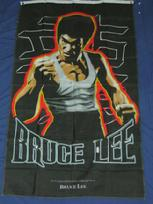 BRUCE LEE VERTICLE FLAG