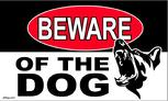 Beware of the Dog flag