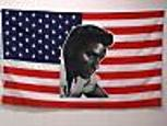 ELVIS USA FLAG 3X5 FT