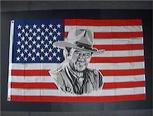 JOHN WAYNE USA FLAG 3X5 FT