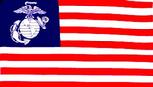 Marines US Nation flag