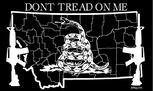 Montana Don't Tread On Me flag