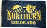 NORTHERN COLORADO FLAG APPLIQUED EMBROIDERED 3X5 BANNER