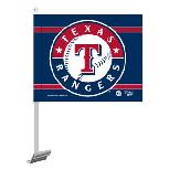 Texas Rangers Two Sided Car Flag