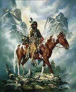 THEY CALL ME WOLF INDIAN HORSE