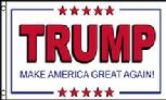 Trump Make America Great flag
