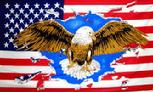 eagle USA flag 3' X 5'