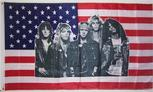 GUNS and ROSES USA flag