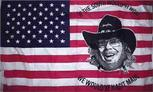 USA HANK WILLIAMS FLAG 3' X 5'
