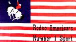 USA RODEO FLAG 3' X 5'