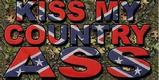 Kiss My Country Ass 3' x 5' flag