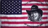 HANK WILLIAMS JR USA FLAG 3X5 FT
