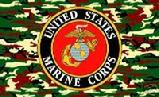 US Camo Marines flag