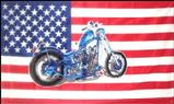 USA BIKE FLAG 3' X 5'
