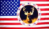 Buck USA flag