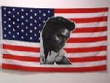 USA ELVIS PRESLEY USA FLAG