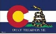Colorado Don't Tread On Me flag