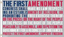 1St Amendment USA flag