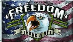 Thank A Vet flag of Freedom