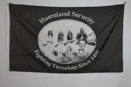 Original Homeland Security Indian Chiefs flag