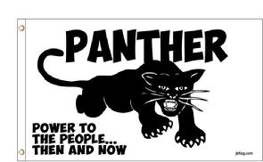 Black Panther Party flag